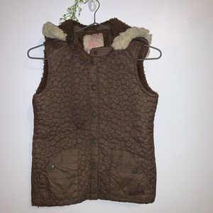 BILLABONG Vest with Removable Hoodie